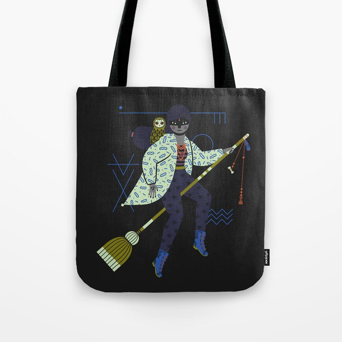 Witch Series: Broomstick Tote Bag