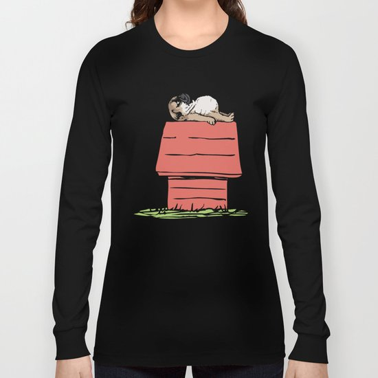 PUG HOUSE Long Sleeve T-shirt