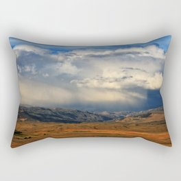 Distant Summer Rainstorm Rectangular Pillow