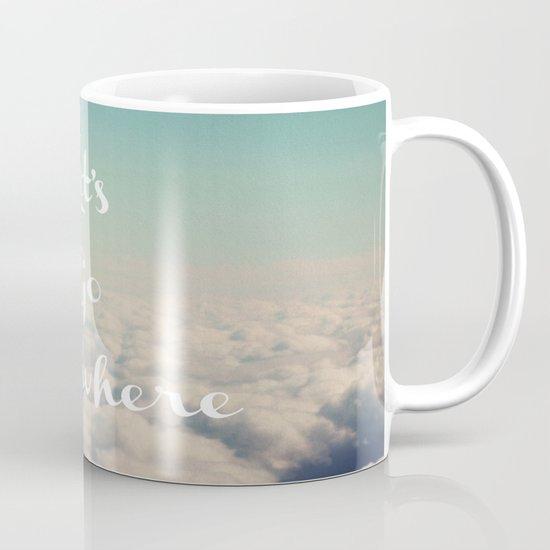 Let's Go Anywhere Mug
