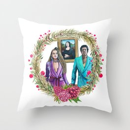 Queen Bey Christmas Holidays Holibeys Apeshit Formation Lemonade Throw Pillow