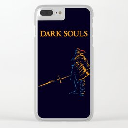 Dragon Slayer Ornstein Clear iPhone Case