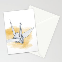 Origami Paper Crane Stationery Cards