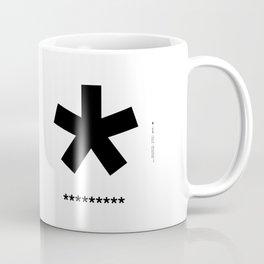 Helvetica Typoster #3 Coffee Mug