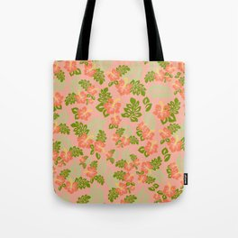 Hawaiian Pattern - Pink Tote Bag