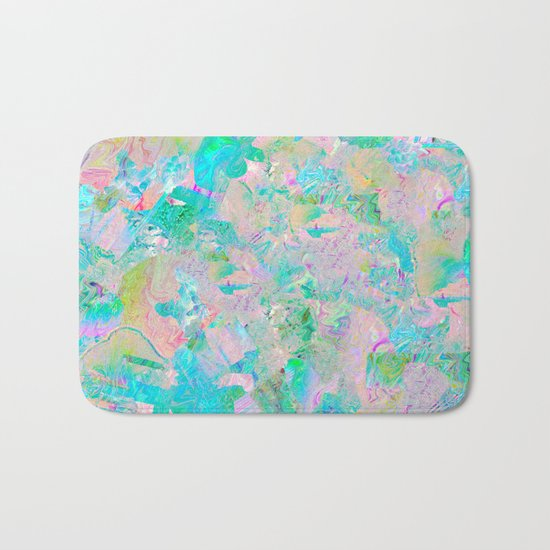 Candied Marble Bath Mat
