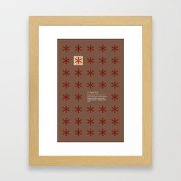 Cropping Framed Art Print