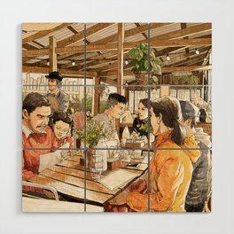 Farm Cafe Wood Wall Art