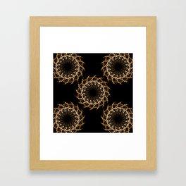 Night Traffic 5 Framed Art Print
