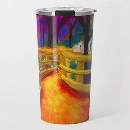 pyre bridge Travel Mug