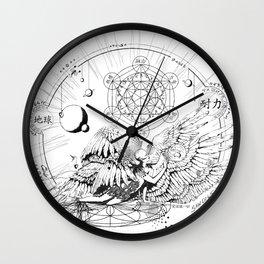 Seraphim Ninefold Ardour Wall Clock