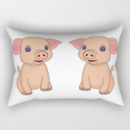 Pretty Piglet Rectangular Pillow
