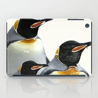 penguins iPad Cases featuring Penguins by Regan's World
