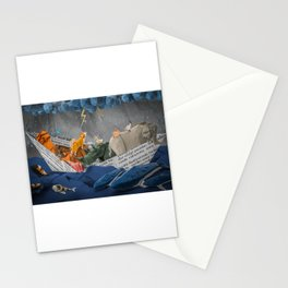 Noah's Paper Boat Stationery Cards