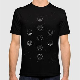 The Nine Realms - Nordic World Map T-shirt