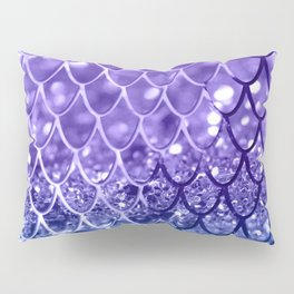 Mermaid Scales on Unicorn Girls Glitter #19 #shiny #decor #art #society6 Pillow Sham