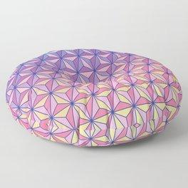 Geodesic Pattern Floor Pillow