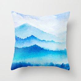 Winter scenery #17 Throw Pillow