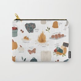 Hello Autumn Carry-All Pouch