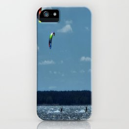 KITE~Party of 3 iPhone Case