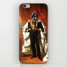 King Vader iPhone & iPod Skin