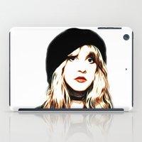 stevie nicks iPad Cases featuring Stevie Nicks - Rhiannon - Pop Art by William Cuccio aka WCSmack