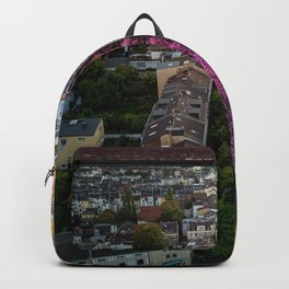 Cherry Blossom Street in Germany Backpack