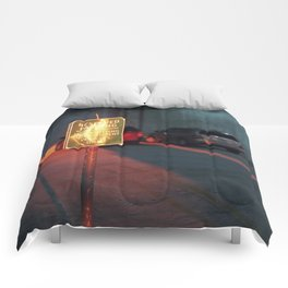 reserved parking Comforters