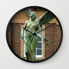 Winged Victory Wall Clock