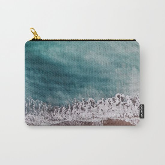 Ocean II (drone photography) Carry-All Pouch