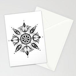 like a mandala_3 Stationery Cards