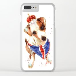 The Union Jack Clear iPhone Case