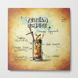 Tequila_Sunrise_by_JAMFoto Metal Print
