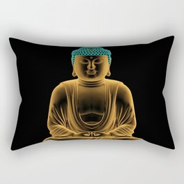 Buddha glow Rectangular Pillow
