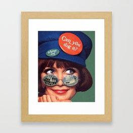 Outta Sight Framed Art Print