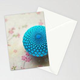 Blue Sacred Geometry Stationery Cards