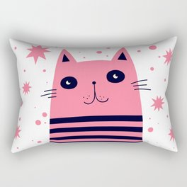 Dreaming Kitty Rectangular Pillow