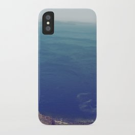 Sea green, ocean blue iPhone Case