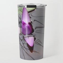 Lotus Emerging by Mandy Ramsey Haines Alaska Travel Mug