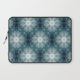 Eight Pointed Star Pattern Laptop Sleeve