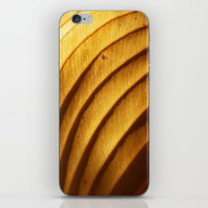 Golden Leaf Light Abstract iPhone & iPod Skin
