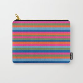 Fall Candy Stripes Carry-All Pouch