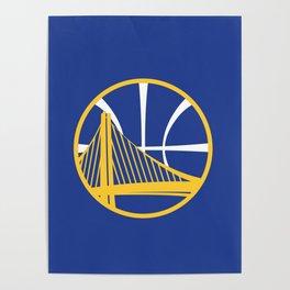 Warriors Logo Poster