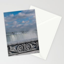 iced fencing - Niagara Stationery Cards