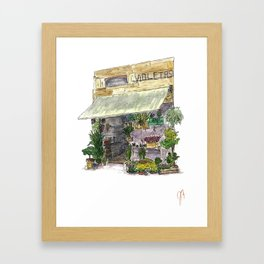 Violetas Framed Art Print