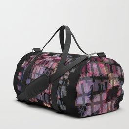 Line and Square Duffle Bag