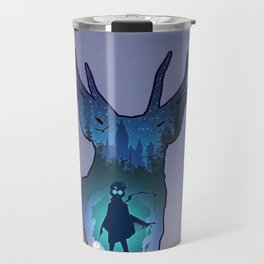 POTTER - PATRONUS ARTISTIC PAINT Travel Mug