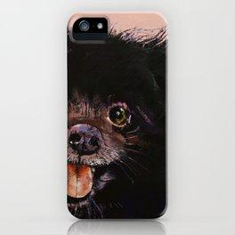 Black Pomeranian iPhone Case