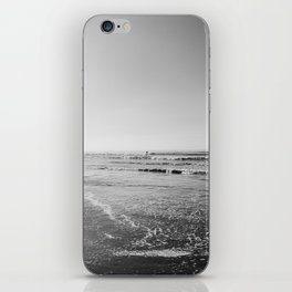 Surfing Monochrome iPhone Skin