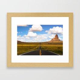 Agathla Peak, Monument Valley, Arizona Framed Art Print